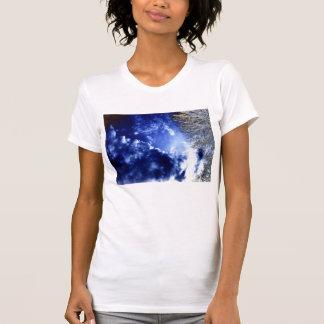 Bright Luminous Cirrocumulus undulatus and Electri T-Shirt