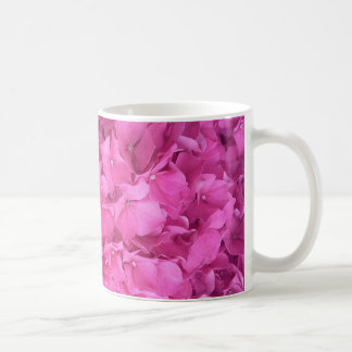 Bright Magenta Hydrangea Flower Coffee Mug