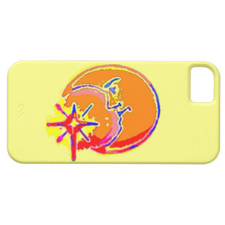 Bright Man in the Moon iPhone SE/5/5s Case