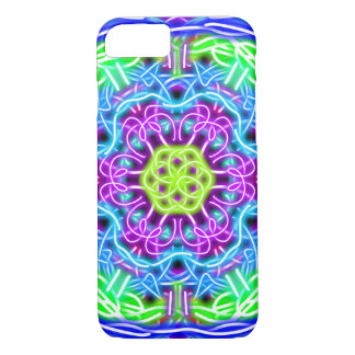 Bright Mandala Design iPhone 7 Case