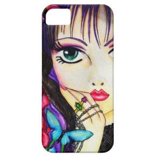 Bright manga decorative artwork iPhone SE/5/5s case