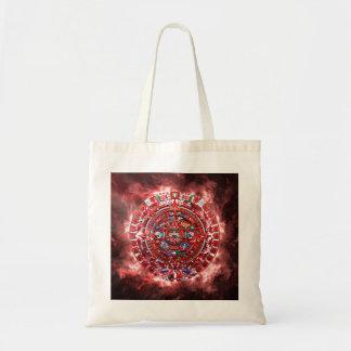 Bright Mayan Calender Tote Bag