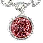 Bright Mayan Calender Bracelets