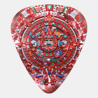 Bright Mayan Calender Pick