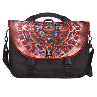 Bright Mayan Calender Bags For Laptop