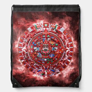Bright Mayan Calender Backpacks