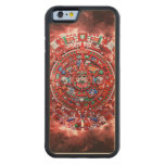 Bright Mayan Calender Carved® Maple iPhone 6 Bumper