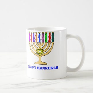 Bright Menorah Coffee Mug