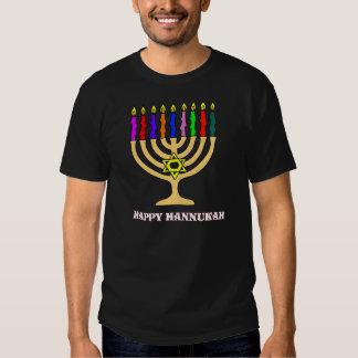 Bright Menorah Tee Shirt