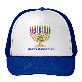 Bright Menorah Trucker Hat