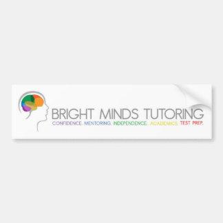 Bright Minds Tutoring Bumper Stickers