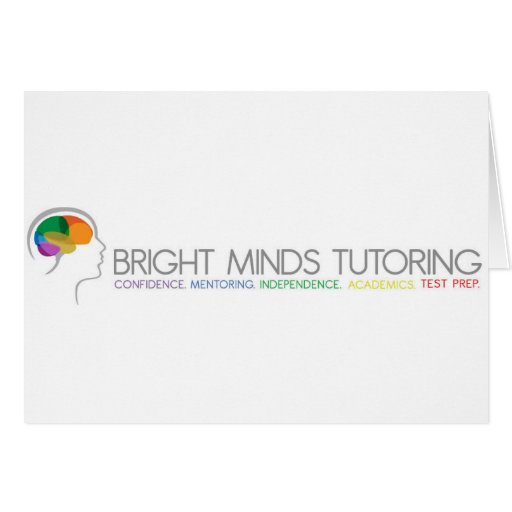Bright Minds Tutoring Card
