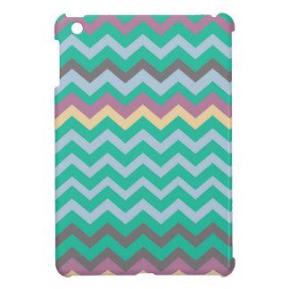Bright Mix Of Chevron Colors iPad Mini Cases