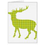 Bright modern deer cards