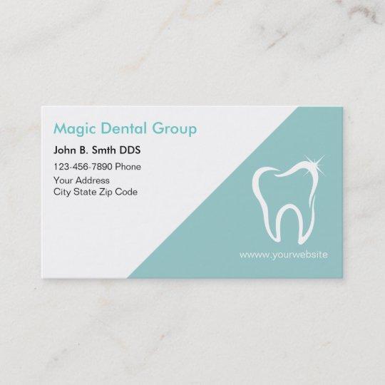 bright modern dentist business cards - Dentist Business Card