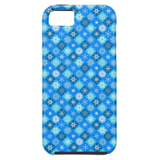 Bright Modern Winter Snowflakes Girly iPhone 5 Case