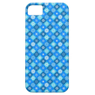 Bright Modern Winter Snowflakes Girly iPhone 5 Cover
