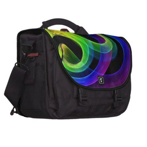 Bright Mood Fractal Commuter Bag
