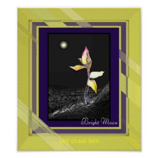 Bright Moon Emotional Art Picture wall print