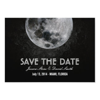Bright Moon Save the Date Announcements