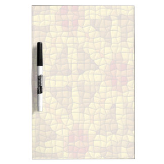 Bright mosaic colored pattern Dry-Erase board