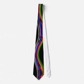 bright multicolor tie