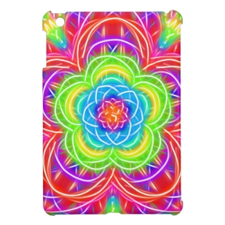Bright Multicolored Kaleidoscope Flower