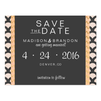 Bright N Beautiful Save the Date Postcard