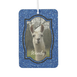 Bright N Sparkling Llama in Royal Blue
