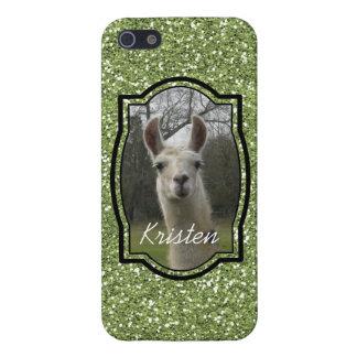 Bright N Sparkling Llama iPhone 5 5S Case