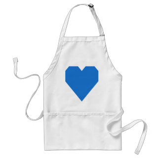 Bright Navy Blue.png Adult Apron
