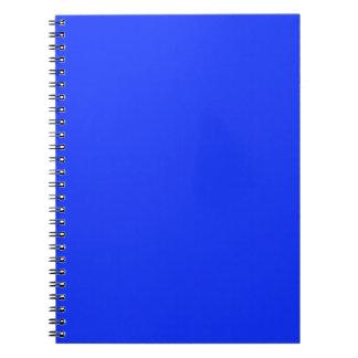 Bright Neon Blue Notebook