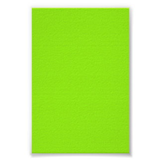 Bright Neon Chartreuse Gree Background on a Poster