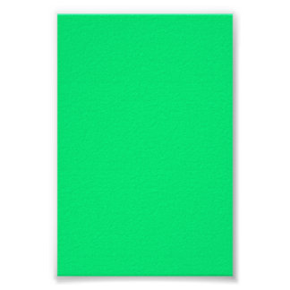 Bright Neon Green Background on a Poster