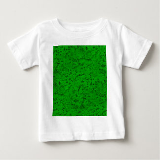 Bright Neon Green Cork Bark Look Wood Grain Baby T-Shirt