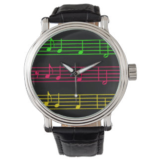 Bright Neon Notes - Watch