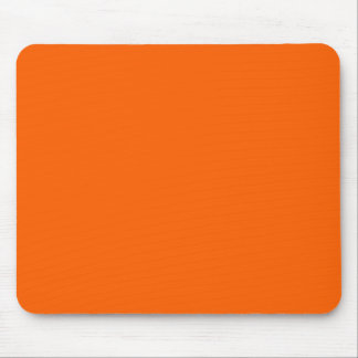 bright neon solid colors orange blue green mouse pad