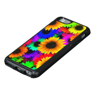 Bright Neon Sunflower Field OtterBox iPhone 6/6s Case