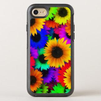 Bright Neon Sunflower Field OtterBox Symmetry iPhone 7 Case