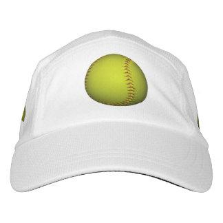 Bright Neon Yellow Softball Hat