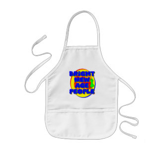 Bright New Age People Kids' Apron