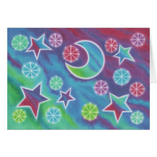 Bright Night 'Congratulations!' greetings card