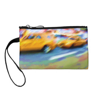Bright NYC Taxis Coin Wallet