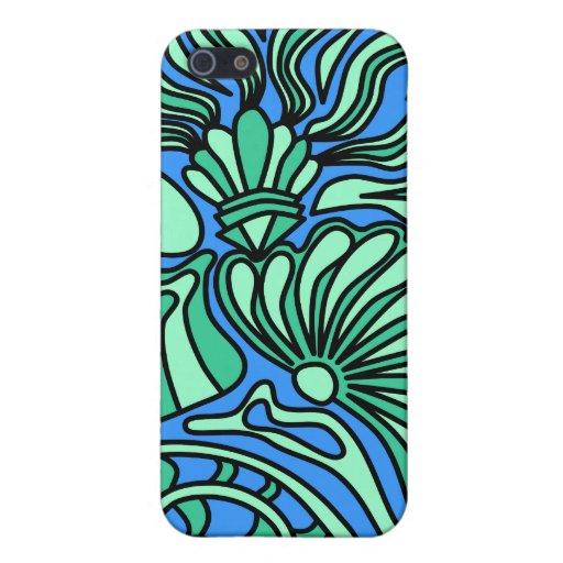 Bright Ocean Theme Design. iPhone 5/5S Cases