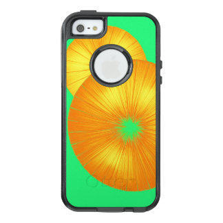 Bright Orange and Green SO COOL OtterBox iPhone 5/5s/SE Case