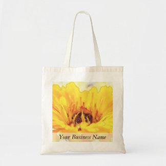 Bright Orange Calendula Blossom Tote Bag