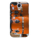 Bright orange conga drums photo samsung galaxy s4 cases