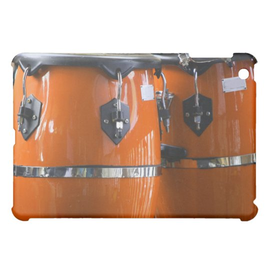 Bright orange conga drums photo iPad mini cover