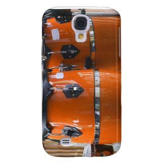Bright orange conga drums photo samsung galaxy s4 cover