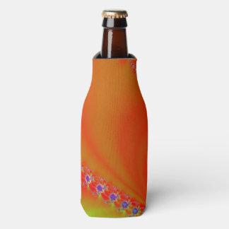 Bright Orange Design Bottle Cooler